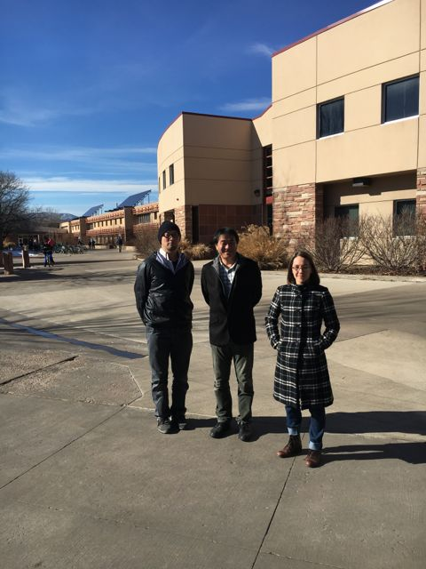 Crystal Systems visit to CSU to install image furance