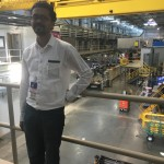 Dr. Nair at the Spallation Neutron Source