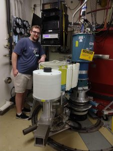 Gavin at ORNL for HB1A Experiment