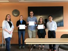 Gavin Hester wins Best Presentation award